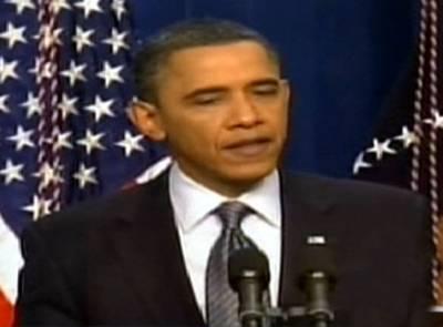 """توہین آمیز فلم سے فائدہ اُٹھاکر """"شدت پسند"""" امریکی مفادات کو نقصان پہنچارہے ہیں : اوباما"""