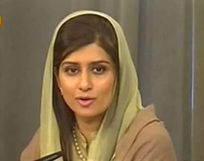 افغانستان سے انخلاءکے پلان میں امریکہ ہمیں اعتماد میں لے:حناکھر