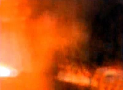 مستونگ میں فائرنگ کے بعد نیٹو کنٹینرمیں آتشزدگی
