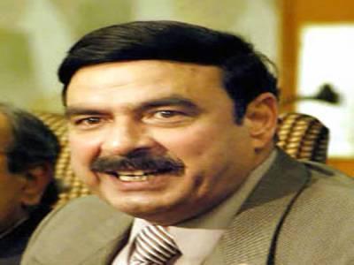 """کچھ """"لوگوں""""کولاہور میں ہماراجلسہ برداشت نہیں:شیخ رشید"""