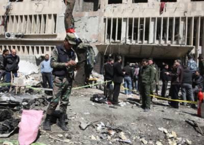 شام کے شہر حلب میں تین کار بم دھماکے ، 27افراد جاں بحق