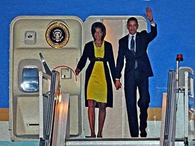 اوباما کامشعل کو رومانوی پیغام دوکروڑافراد تک پہنچ گیا