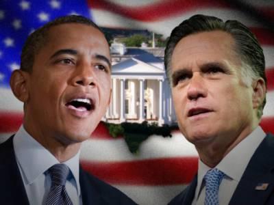 اوباما اور رومنی کی بحث ختم ہو گئی