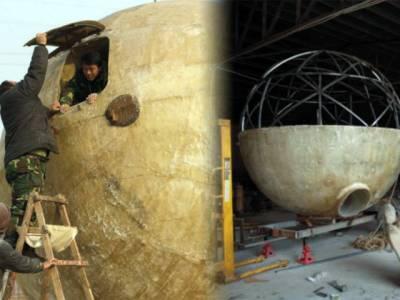 چین میں سونامی سے محفوظ گھروں کی تعمیر