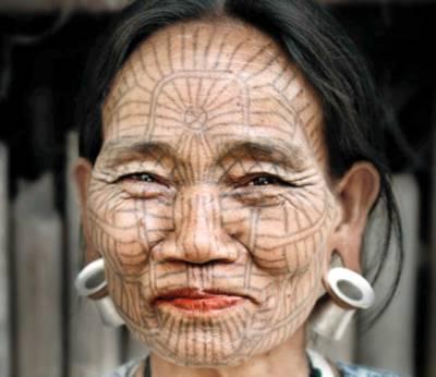 برمی خواتین اصل حسن سے اکتا گئیں