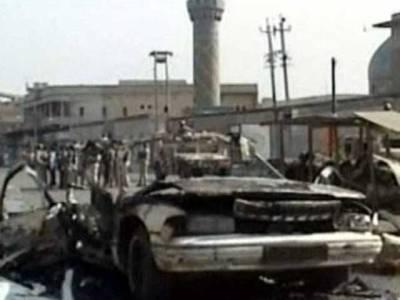 عراق میں تین کار بم دھماکے ، 10افراد جاں بحق