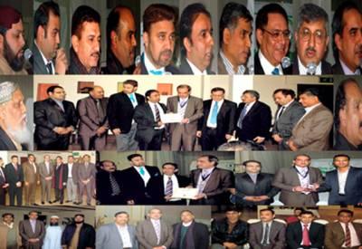 برطانیہ میں پاکستانی سفارتکار کے اعزاز میں الوداعی تقریب