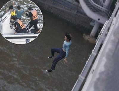 لندن: حالات سے عاجز خاتون نے موت کو گلے لگانے کے لئے دریا میں چھلانگ لگا دی