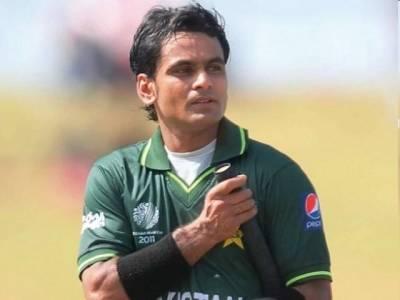 پاکستانی فاسٹ باﺅلر بھارت کو پریشان کرسکتے ہیں : محمد حفیظ