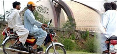 سندھ حکومت نے تین دن کے لیے ڈبل سواری پر پابندی عائد کردی