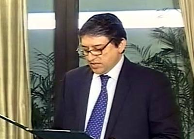 نئے وزیر خزانہ سلیم مانڈی والا نے حلف اٹھالیا