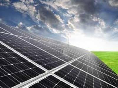 چولستان میں شمسی توانائی سے 50 میگاواٹ بجلی پیدا کرنے کے منصوبے کا سنگ بنیاد