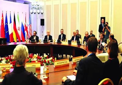 الماتے: چیف جوہری مذاکرات کار سعید جلیلی کی قیادت میں ایرانی وفد عالمی طاقتوں کے ساتھ جوہری مذاکرات میں شریک ہے