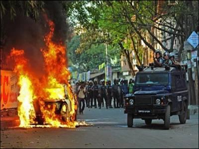 بنگلہ دیش میں پُرتشدد مظاہرے،ہلاکتیں 70ہوگئیں ، فوج تعینات
