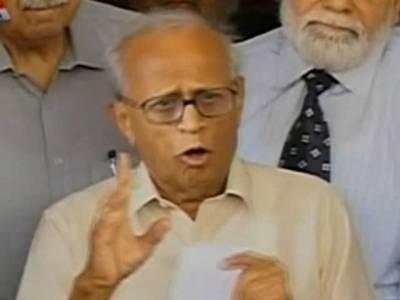 چیف الیکشن کمشنر فخرالدین جی ابراہیم کو توہین عدالت کا نوٹس جاری