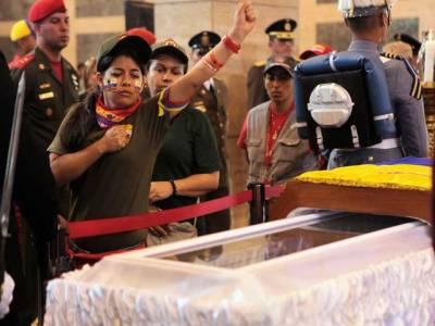 وینزویلا کے آنجہانی صدر ہوگو شاویز ملٹری میوزیم میں سپرد خاک
