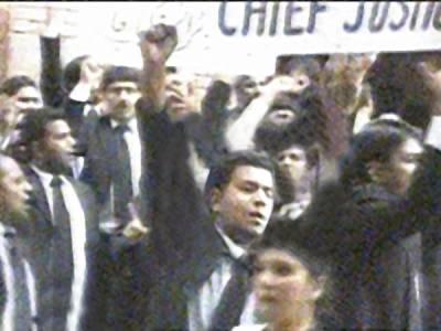 وکلاءنے عبوری حکومت کیلئے جسٹس ریٹائرڈ ناصراسلم زاہد اور طارق پرویز کے نام مستر د کردیئے