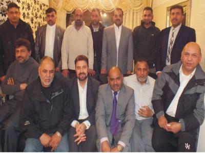 مانچسٹر میں پاکستانیوں کا اکٹھ