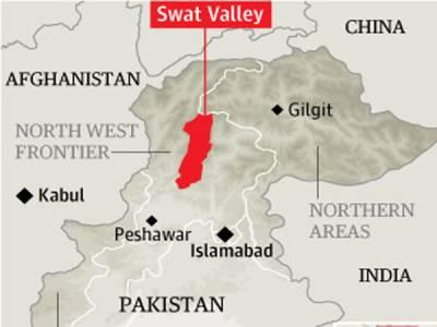 سوات میں ٹریفک حادثہ ، سکول جانیوالی دوبچیوں سمیت تین طلباءجاں بحق