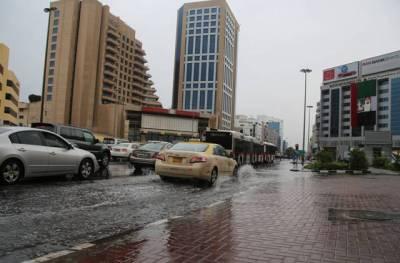 شارجہ ،ابوظہبی اور دبئی میں طوفانِ بادو باراں