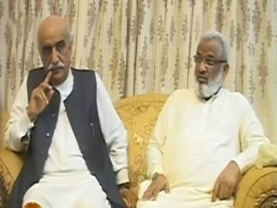 خورشید شاہ اور ارباب رحیم کے درمیان سیٹ ایڈجسمنٹ مذاکرات بغیر کسی نتیجہ کے ختم