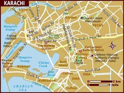 کراچی میں زوردار دھماکے سے گیس پائپ لائن پھٹ گئی