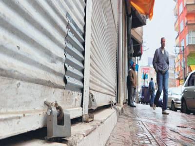 کراچی : تین روز ہڑتال اور باقی دن غیر یقینی کی صورتحال نے معیشت کا بھٹہ بٹھا دیا