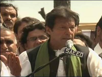 مقابلہ ن لیگ اور جنون میں ہوگا :عمران خان