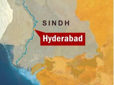 حیدر آباد میں تھانے پر فائرنگ ،دو اہلکار زخمی