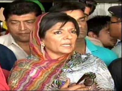 تحریک انصاف کے کارکنوں کو کھلی دھمکیاں مل رہی ہیں:علیمہ خان