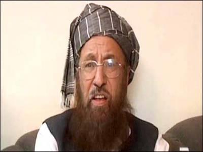 طالبان ہمیں اپنا باپ سمجھتے ہیں :سمیع الحق