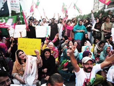 مطالبات کی منظوری تک دھرنے اور ریلیاں جاری رہیں گی:پی ٹی آئی
