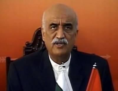 قومی مفاد میں آئین میں ترمیم کرنی پڑی تو حکومت کا ساتھ دیں گے: خورشید شاہ