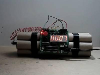 پولیس نے چھ 'تنہا'بم پکڑ لئے