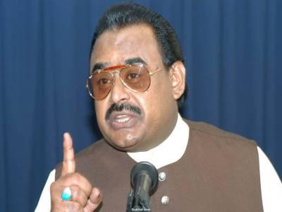 گزشتہ 65سال سے جو سندھ میں آباد ہیں وہ حکومت سے باہر ہیں:الطاف حسین