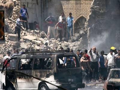 عراق میں خودکش دھماکے،31 افراد ہلاک