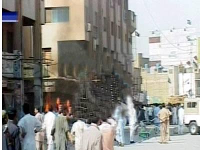 ملزم کی نشاندہی پر کوئٹہ کے مشرقی باس پر چھاپہ، اسلحہ اور دھماکہ خیز مواد برآمد