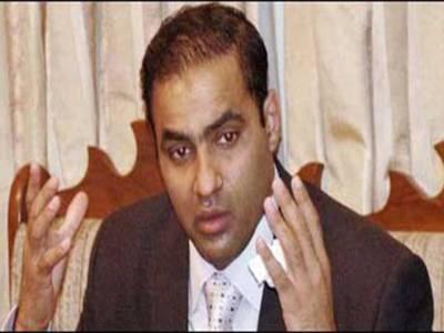 عابد شیر علی وزیر مملکت برائے پانی و بجلی مقرر