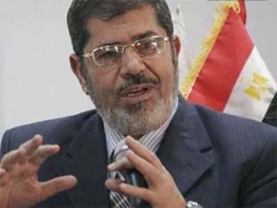 مصر کے معزول صدر محمد مرسی باقاعدہ گرفتار، چھڑپیں شروع