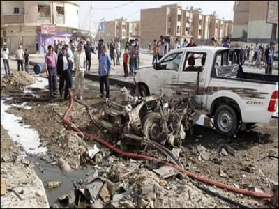 عراق میں خود کش حملہ، 8 کردش پولیس اہلکار ہلاک