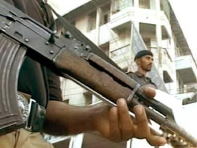 کراچی میں بنک ڈکیتی ، ڈاکو عملے کے فون اور اسلحہ بھی لے گئے
