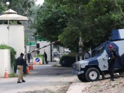 لاہورمیں امریکی قونصل خانہ خالی کرا لیا گیا
