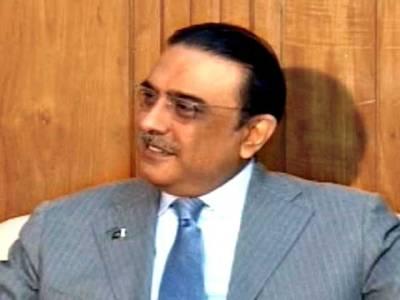 کراچی میں امن وامان کیلئے کوئی غفلت برداشت نہیں : صدرزرداری