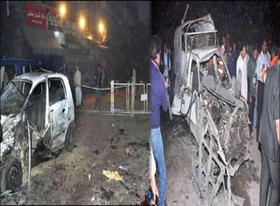 لاہور کے شاپنگ مال میں پر اسراردھماکہ ،دوافرادزخمی ، عمارت کا ایک حصہ منہدم