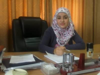 فلسطین میں 16سالہ لڑکی کو ایک دن کے لئے وزیر بنا دیا گیا
