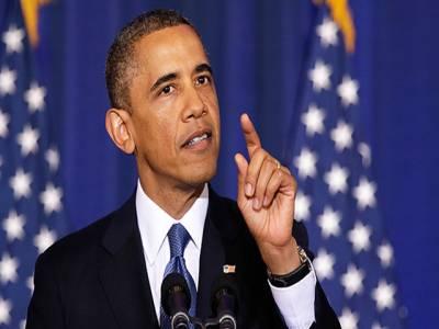 امید ہے کہ کانگریس شام پر حملے کے حق میں ووٹ دے گی:اوباما