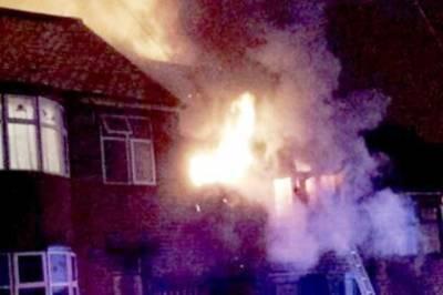 لیسٹر شائر میں ایک گھر میں آتشزدگی سے 4 پاکستانی جاں بحق