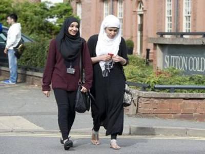 برمنگھم میٹروپولیٹن کالج نے مسلمان لڑکیوں کے نقاب کرنے پر پابندی عائد کردی