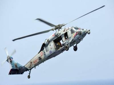 شام پر ممکنہ حملے کیلئے جانیوالا امریکی ہیلی کاپٹر بحیرہ احمر میں گرکرتباہ
