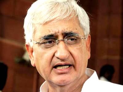 پاکستان اور بھارت کے درمیان ابھی مذاکرات کا آغازنہیں ہوسکتا: سلمان خورشید